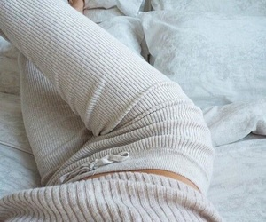fashion, cozy, and outfit image