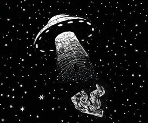 drawing, space, and stars image