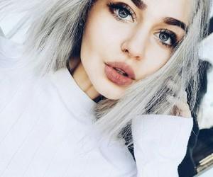 boy, make-up, and eyes image
