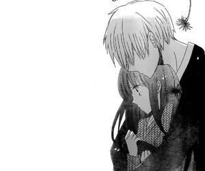 manga, couple, and draw image