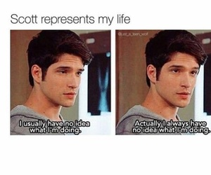 teen wolf, scott, and funny image