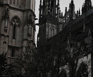 aesthetic, dark, and architecture image