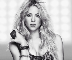 gray, necklace, and shakira image
