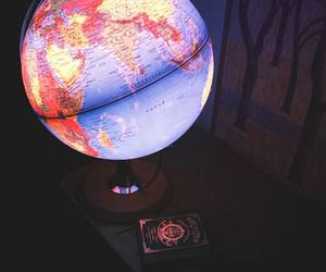 book, cosmos, and earth image