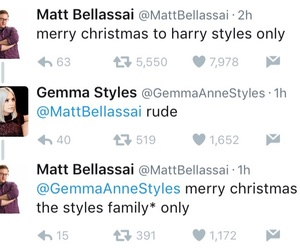 christmas, gemma styles, and Harry Styles image