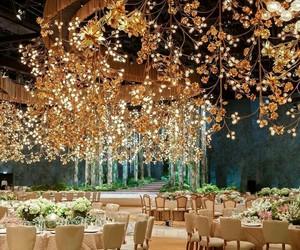 decor, luxury, and wedding image