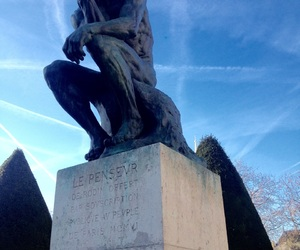 art, paris, and sculpture image