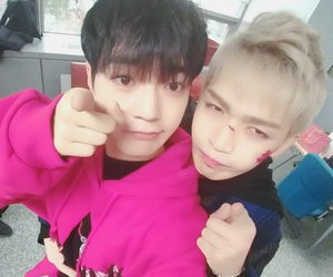 changhyun, up10tion, and bitto image