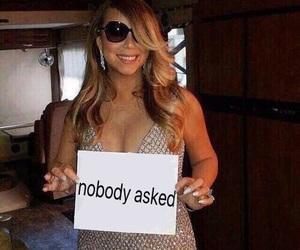 meme, reaction, and Mariah Carey image