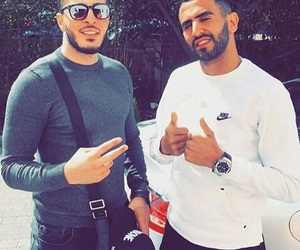 riyad mahrez and algérien image