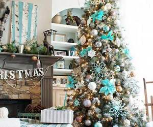 christmas, home, and tree image