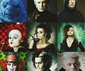 alan rickman, alice in wonderland, and harry potter image