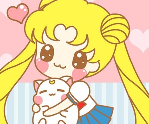 sailor moon, kawaii, and wallpaper image