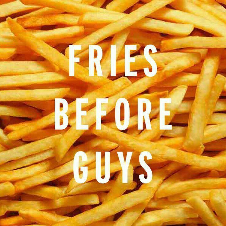fries, food, and guys image