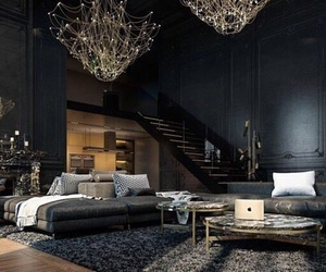 black, house, and home image