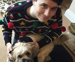 celebs, daniel, and puppies image