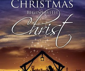 christmas, Christ, and jesus image