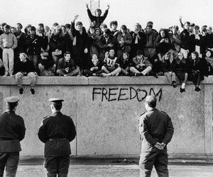 freedom and black and white image