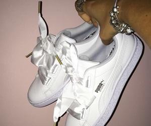 puma and white image