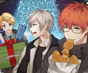 mystic messenger, anime, and 707 image