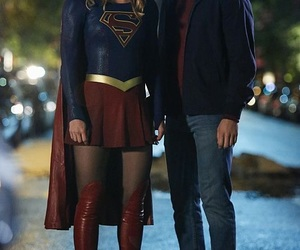 couple, mon-el, and super heroes image