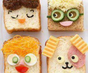 food, funny, and bread image