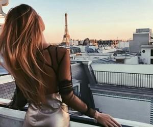 girl, fashion, and paris image