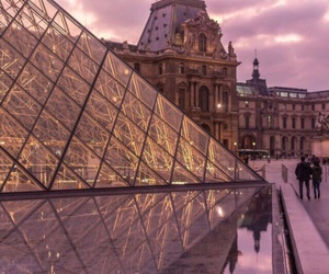 france, glass, and paris image