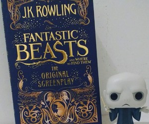 harry potter, voldemort, and funko pop image