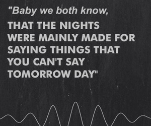 arctic monkeys, quotes, and night image