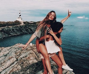friends, summer, and best friends image