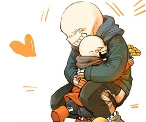 papyrus, sans, and undertale image