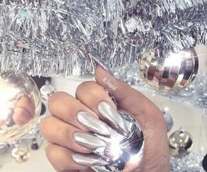 nails, christmas, and beautiful image