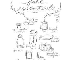 art, autumn, and doodles image