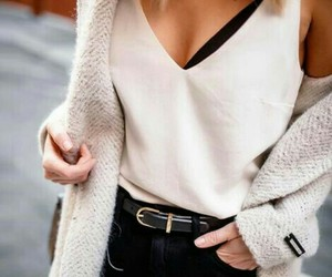 fashion, outfit, and knitted image