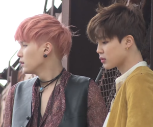 bts, suga, and jimin image