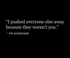 black background, quotes about heart break, and love quotes image