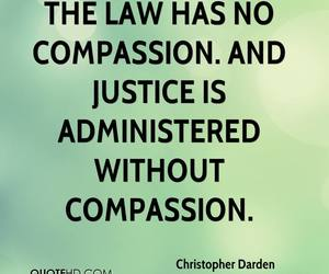 compassion, justice, and Law image