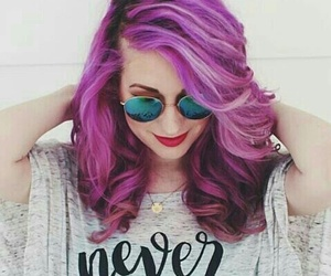 girl, color, and hair image