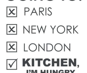 paris, hungry, and london image