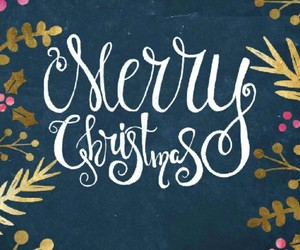 christmas, lettering, and holiday image
