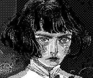 girl, illustration, and manga image