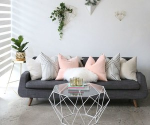 home, decor, and living room image