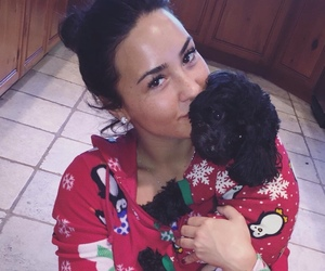 demi lovato, christmas, and batman image