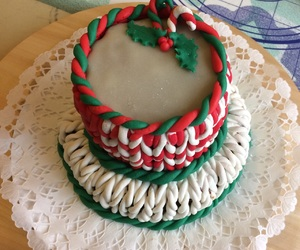 cake, december, and homemade image