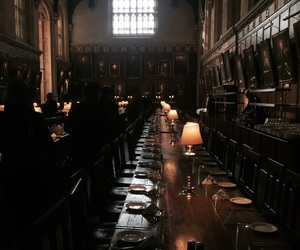 diningroom, harry potter, and oxford image