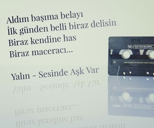 müzik, yalin, and türkçe sözler image