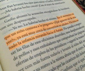 book, frases, and peter pan image