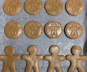biscuit, biscuits, and christmas image