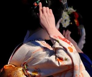 geisha, nite, and geiko image